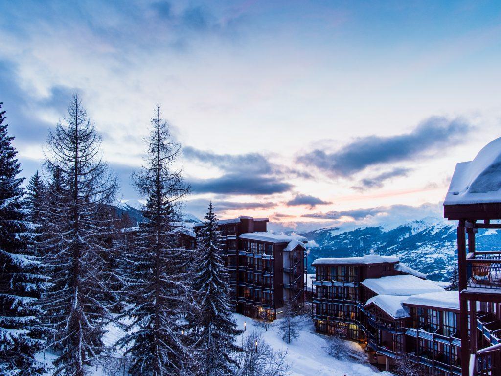 Station de ski, Alpes