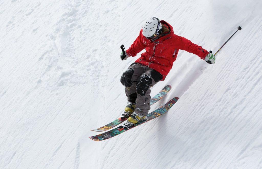 Personne à ski